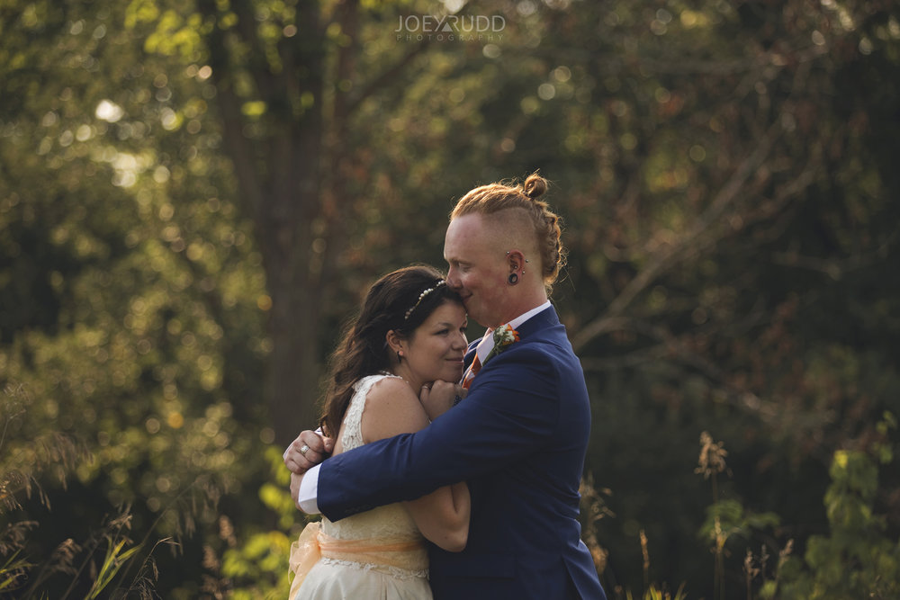 Backyard Kingston Wedding by Ottawa Wedding Photographer Joey Rudd Photography Artistic Photo