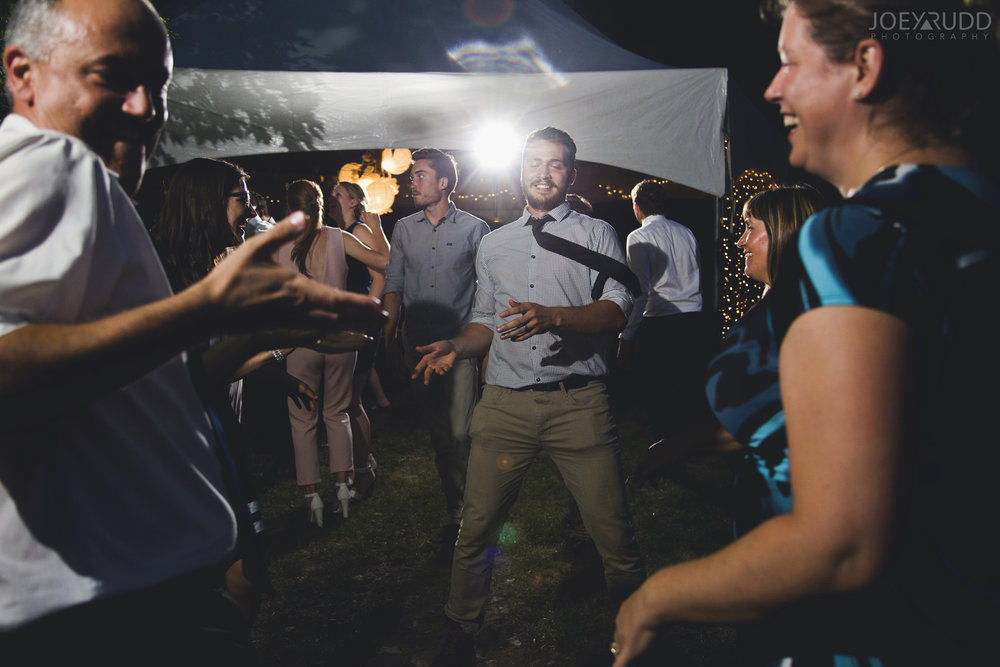 Backyard Kingston Wedding by Ottawa Wedding Photographer Joey Rudd Photography Dancing Candid