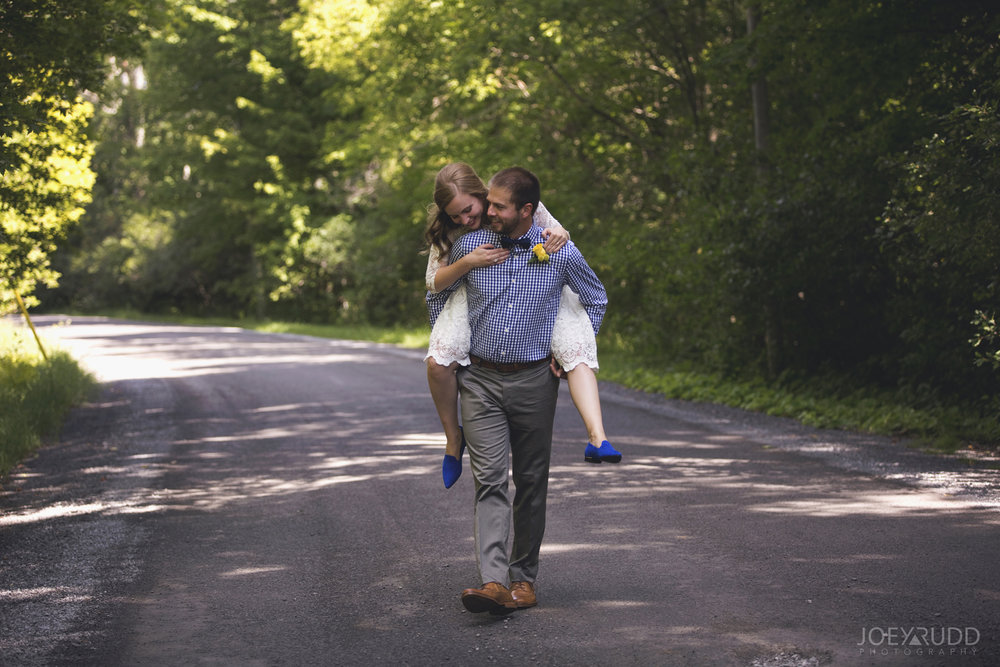 Ottawa Elopement by Joey Rudd Photography Ottawa Wedding Photographer Mer Bleue Ottawa Wedding Chapel Piggy Back Candid