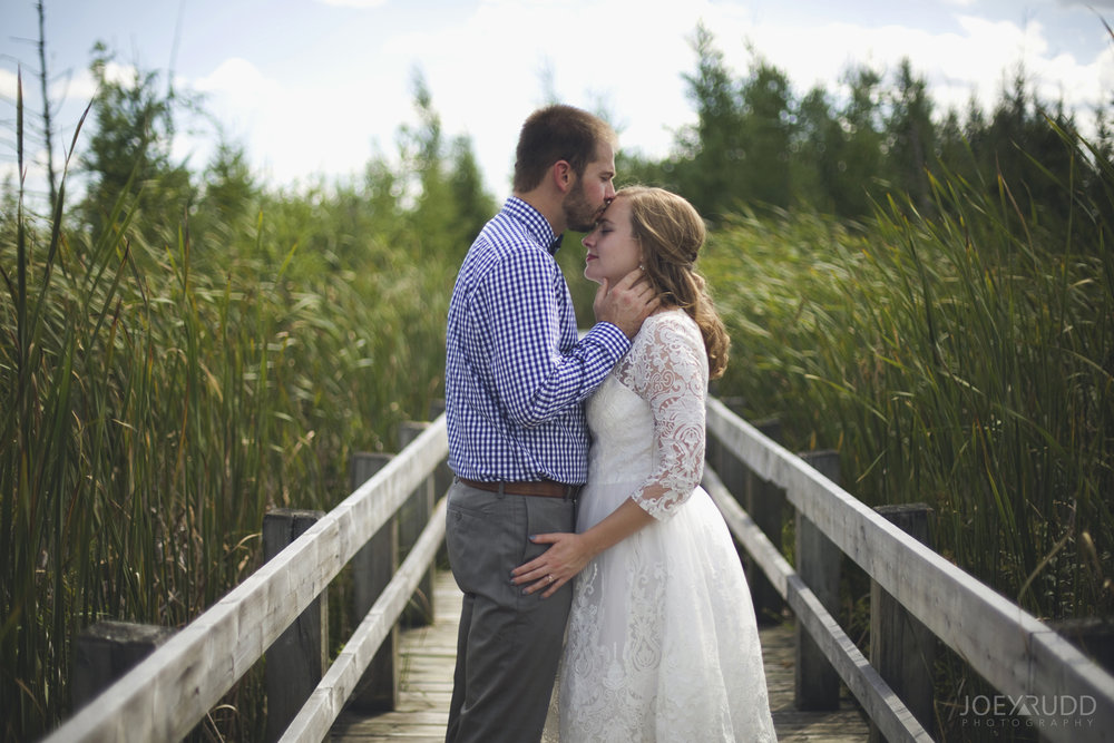 Ottawa Elopement by Joey Rudd Photography Ottawa Wedding Photographer Mer Bleue Ottawa Wedding Chapel Bog Trail