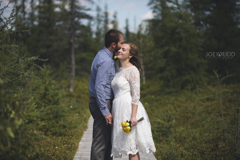 Ottawa Elopement by Joey Rudd Photography Ottawa Wedding Photographer Mer Bleue Ottawa Wedding Chapel Nature Trail