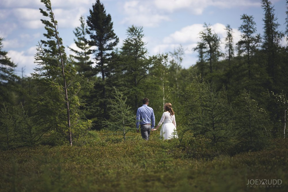 Ottawa Elopement by Joey Rudd Photography Ottawa Wedding Photographer Mer Bleue Ottawa Wedding Chapel Nature Hike