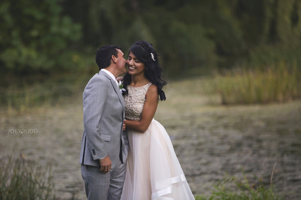 Elopement Wedding at the Arboretum by Ottawa Wedding Photographer Joey Rudd Photography Water
