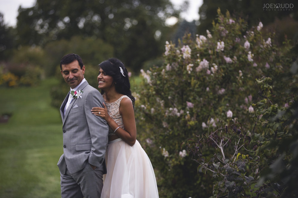 Elopement Wedding at the Arboretum by Ottawa Wedding Photographer Joey Rudd Photography Gardens