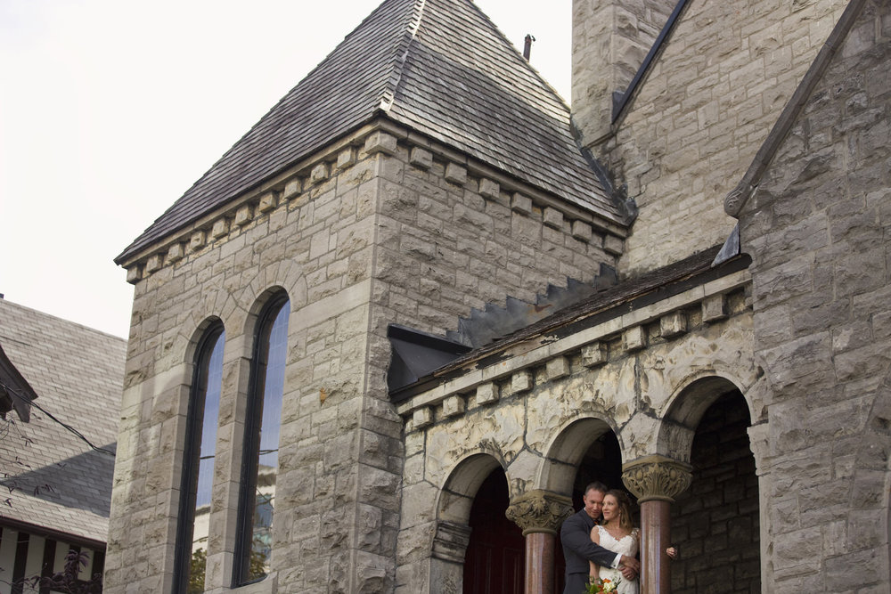 Beautiful Fall Wedding in Ottawa by Joey Rudd Photography St Paul's Eastern United Church Downtown