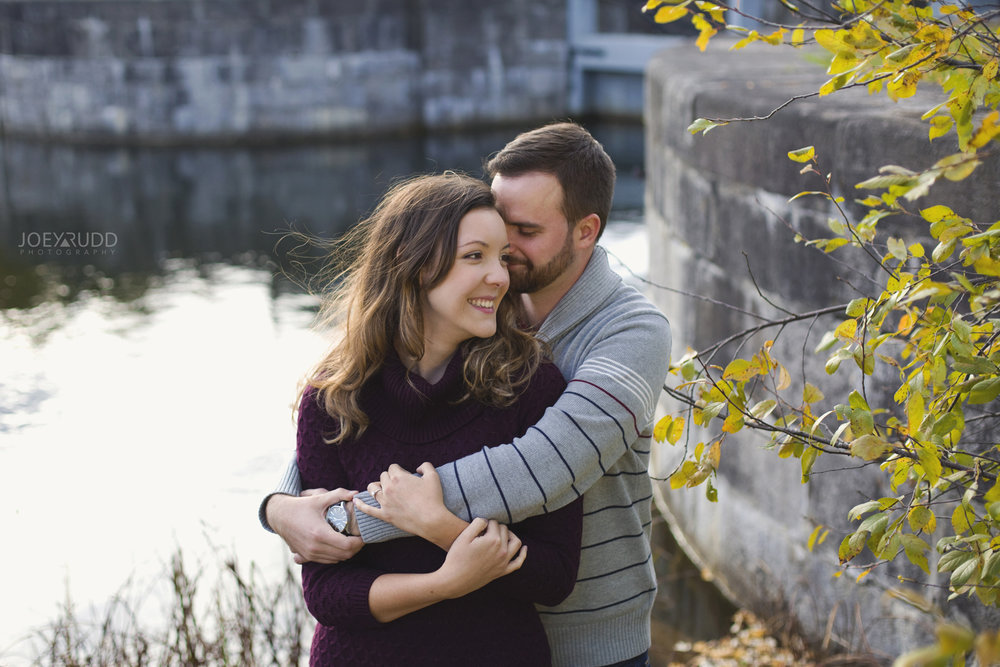 Smiths Falls Engagement Photography by Ottawa Wedding Photographer Joey Rudd Photography