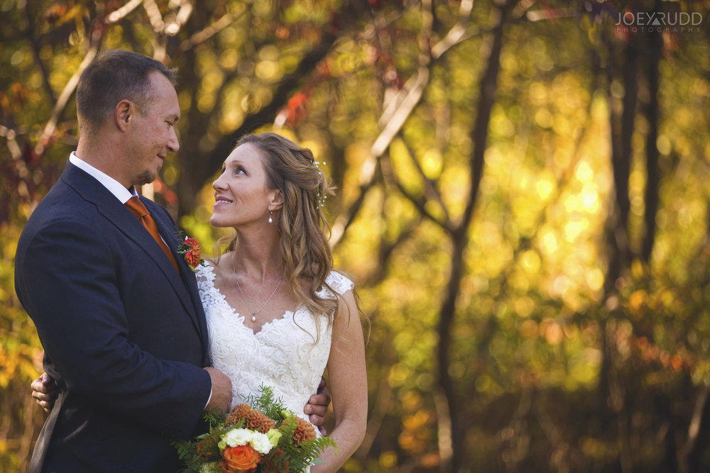 Ottawa Fall Wedding by Wedding Photographer Joey Rudd Photography Bride and Groom