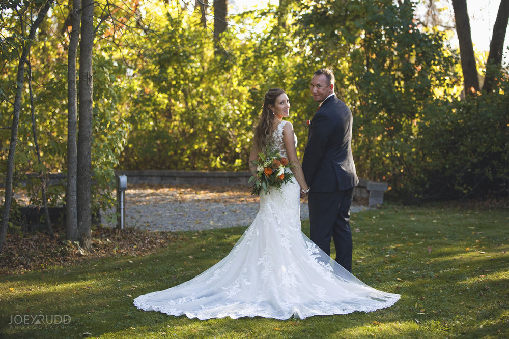 Ottawa Fall Wedding by Wedding Photographer Joey Rudd Photography Wedding Dress