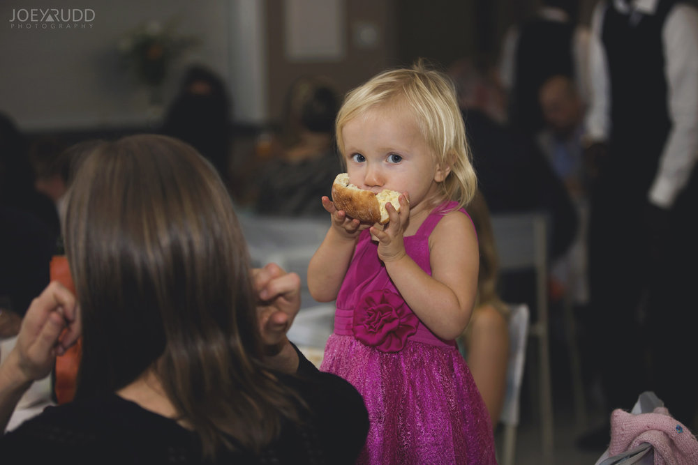 Ottawa Fall Wedding by Wedding Photographer Joey Rudd Photography Candid Reception Kid