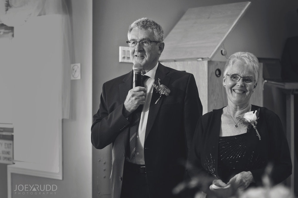 Ottawa Fall Wedding by Wedding Photographer Joey Rudd Photography Candid Reception Speech