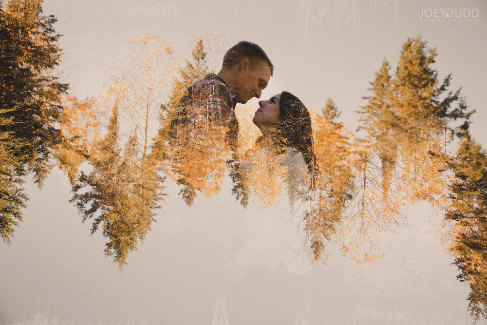 Carleton Place Engagement by Joey Rudd Photography Double Exposure