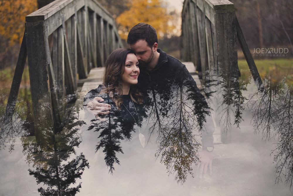Brockville Engagement Photos by Ottawa Wedding Photographer Joey Rudd Photography Double Exposure