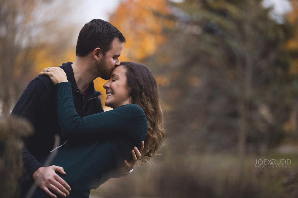 Brockville Engagement Photos by Ottawa Wedding Photographer Joey Rudd Photography Sunset Fall