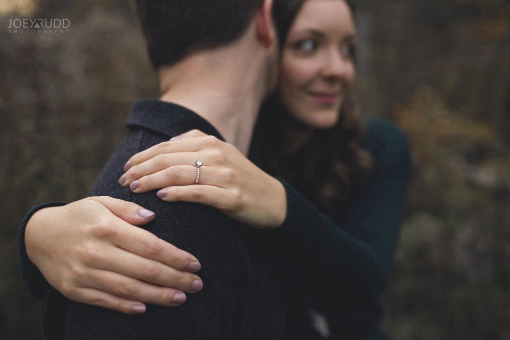 Brockville Engagement Photos by Ottawa Wedding Photographer Joey Rudd Photography Ring Details