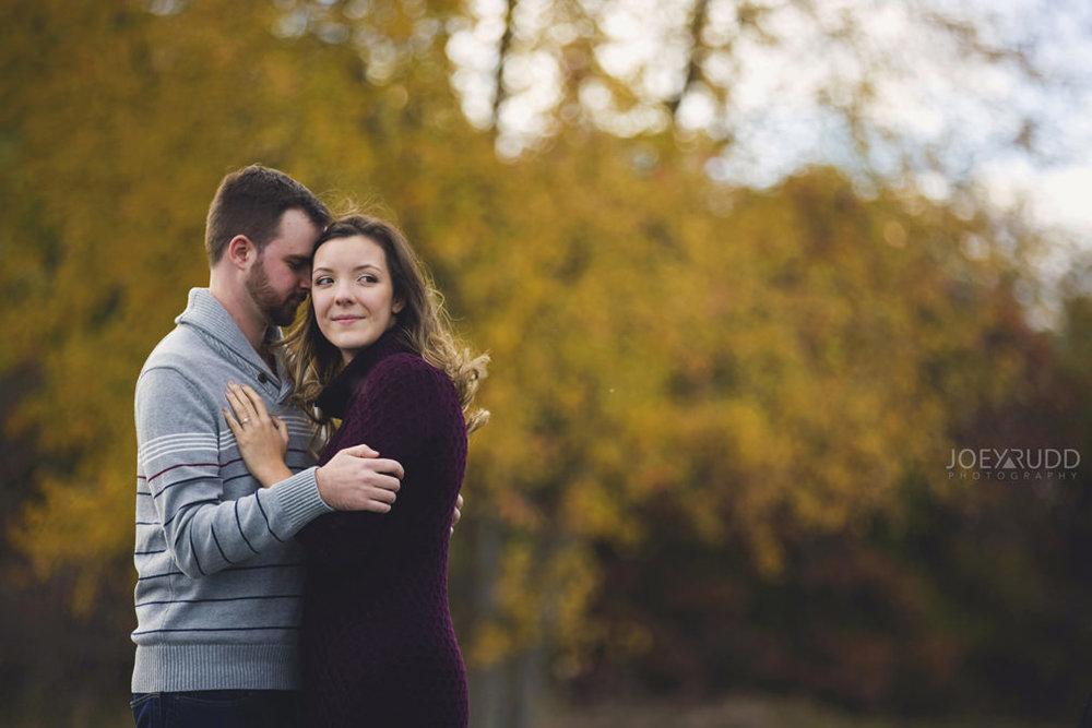Brockville Engagement Photos by Ottawa Wedding Photographer Joey Rudd Photography Fall Leaves