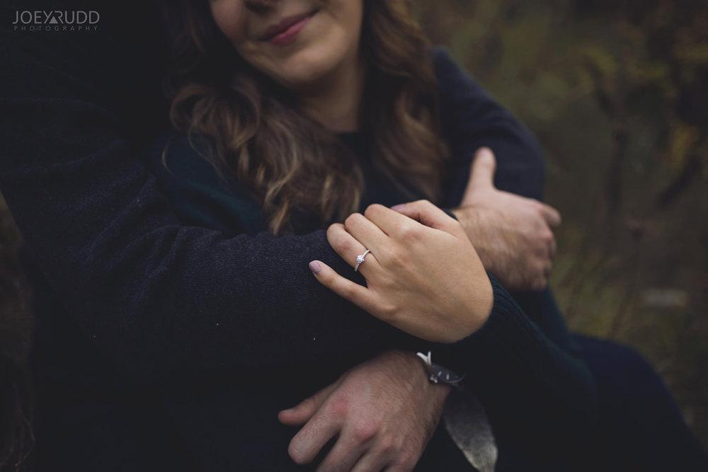 Brockville Engagement Photos by Ottawa Wedding Photographer Joey Rudd Photography Close Ring Details