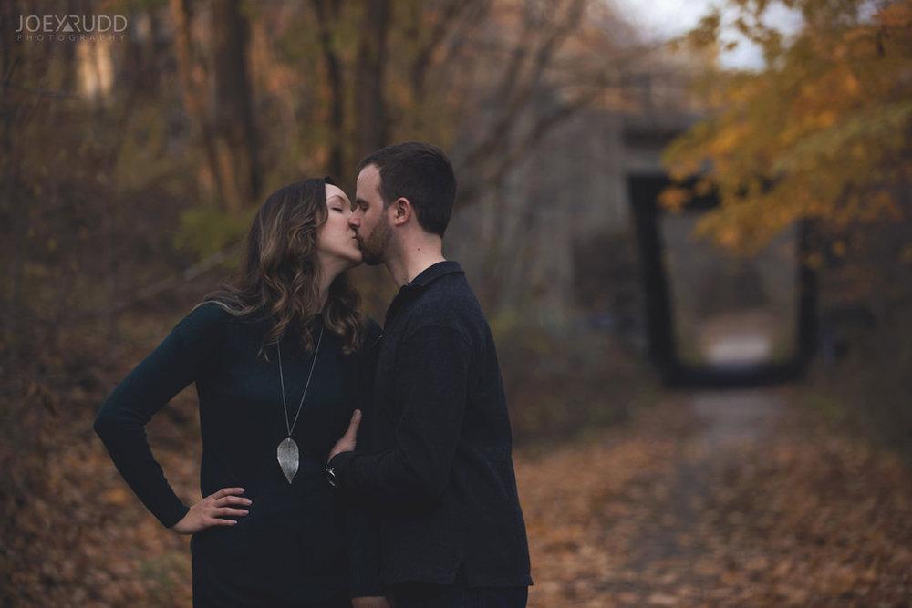 Brockville Engagement Photos by Ottawa Wedding Photographer Joey Rudd Photography Outdoors
