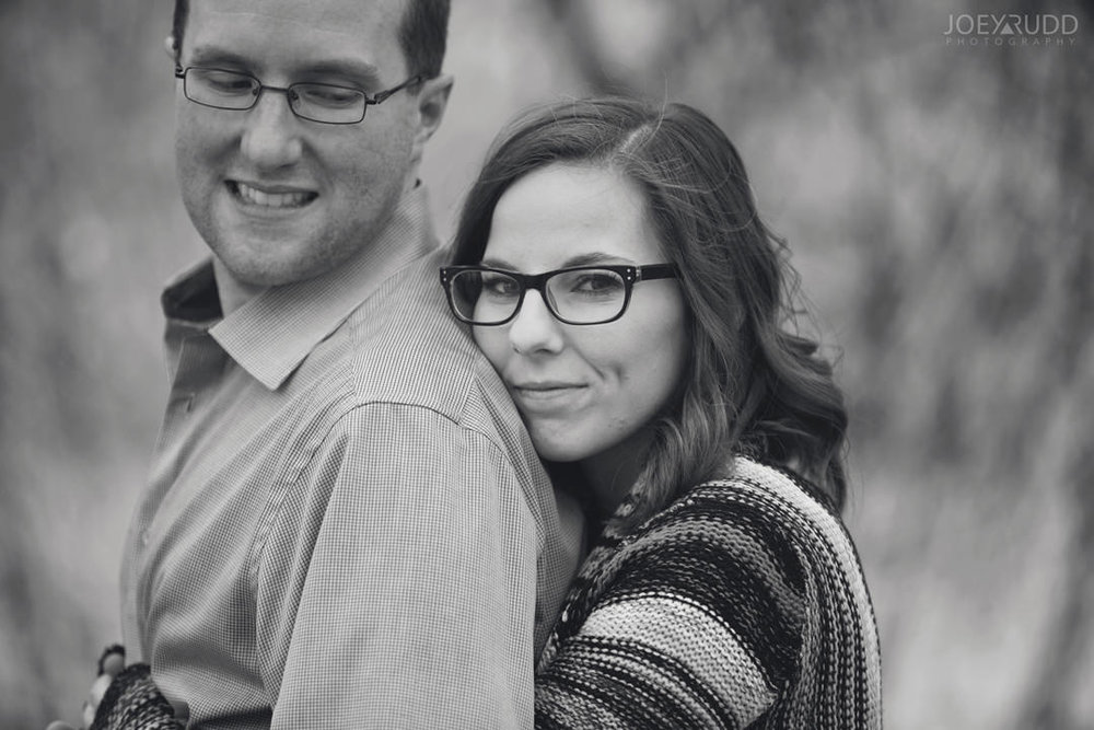 Ottawa Engagement Photography by Photographer Joey Rudd Photography Close Up