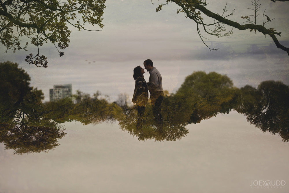 Ottawa Engagement Photography by Photographer Joey Rudd Photography Double Exposure