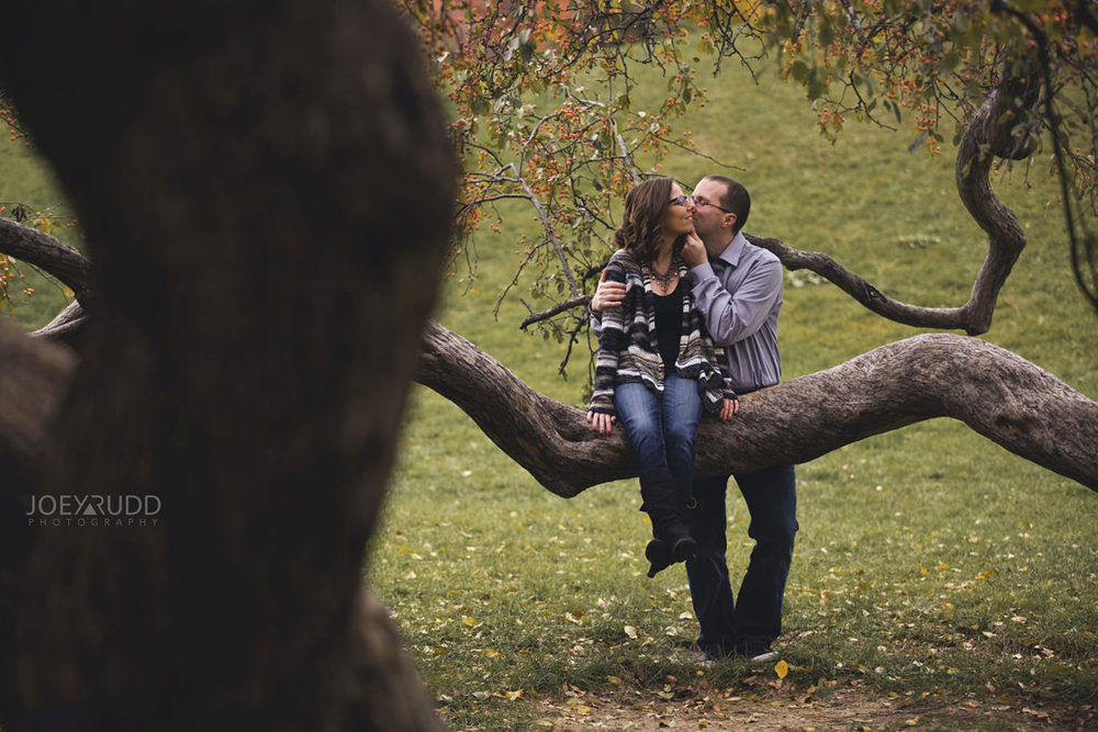Ottawa Engagement Photography by Photographer Joey Rudd Photography Nature