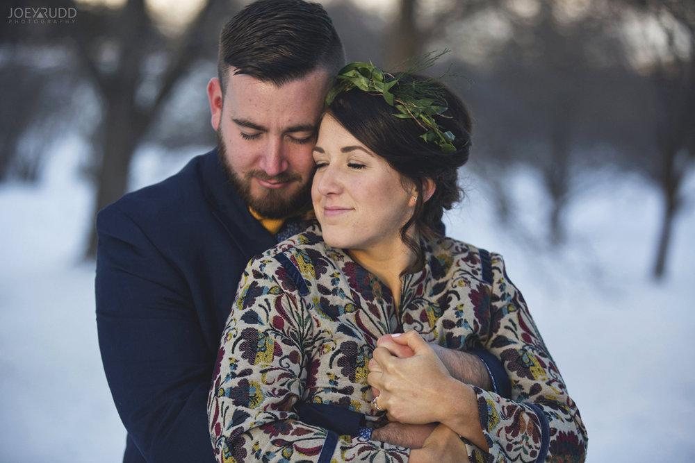 Ottawa winter wedding by ottawa wedding photographer Joey Rudd Photography Romantic