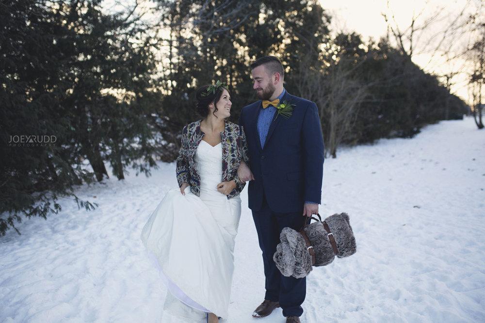 Ottawa winter wedding by ottawa wedding photographer Joey Rudd Photography Posing