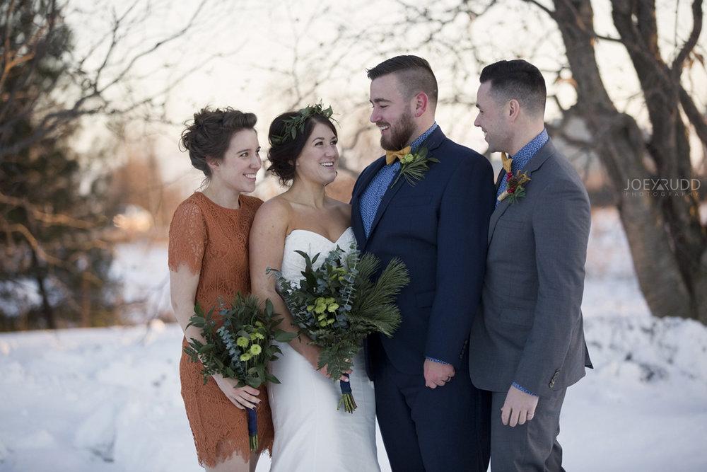 Ottawa winter wedding by ottawa wedding photographer Joey Rudd Photography Candid Party