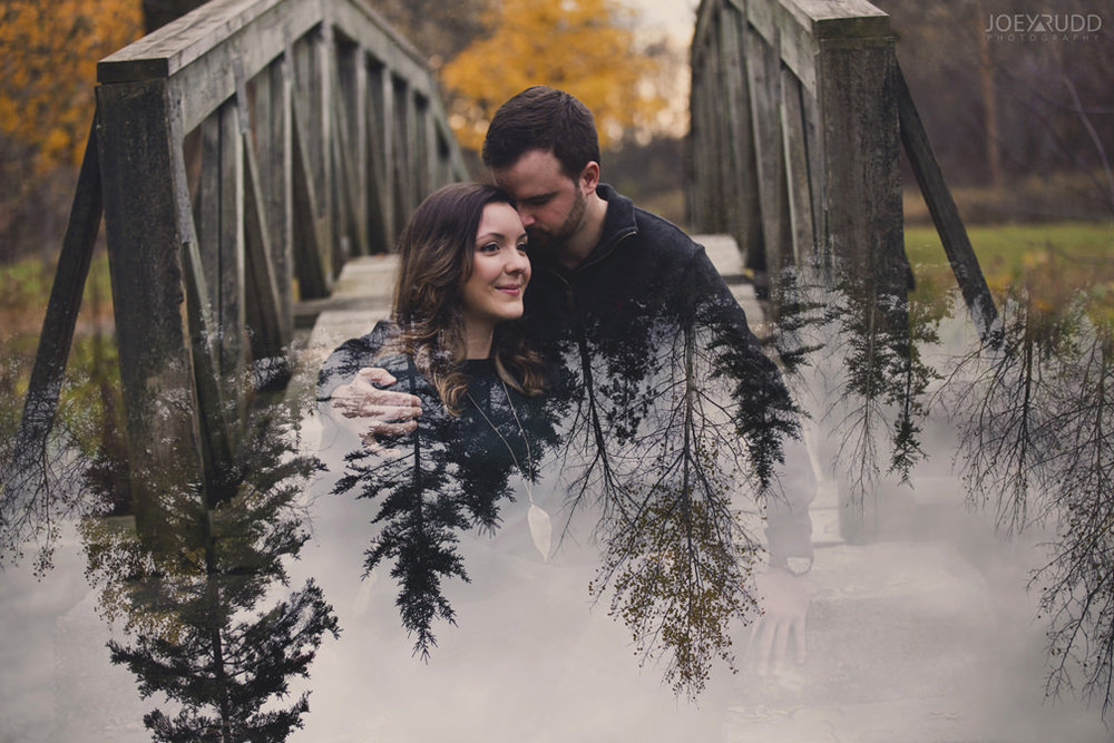 Best of 2016 Ottawa Wedding Photographer Joey Rudd Photography Candid Lifestyle Photojournalistic Wedding Photos Double Exposure Engagement