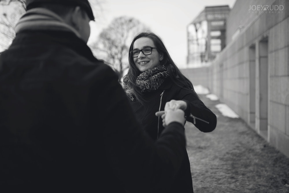 winter engagement at major's hill park by ottawa wedding photographer joey rudd photography art gallery museum