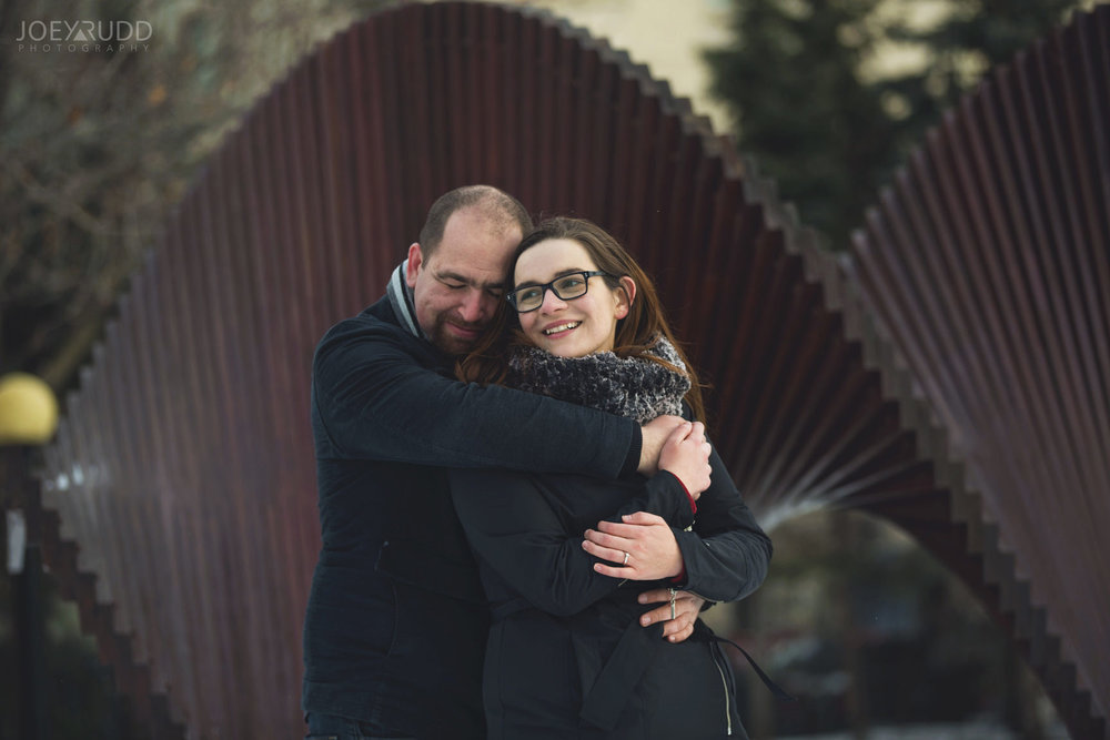 winter engagement at major's hill park by ottawa wedding photographer joey rudd photography modern art