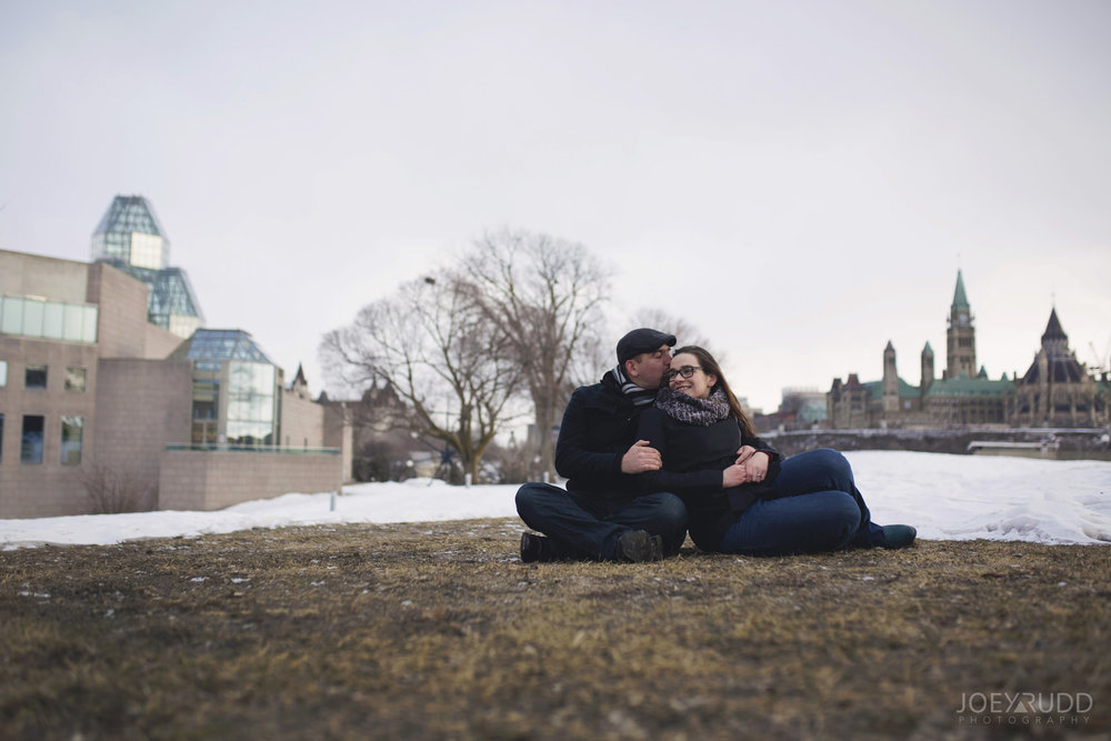 winter engagement at major's hill park by ottawa wedding photographer joey rudd photography parliament and art gallery