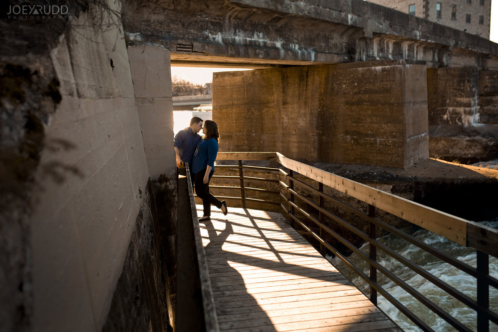 Almonte engagement photography by ottawa wedding photographer joey rudd photography boardwalk sunset