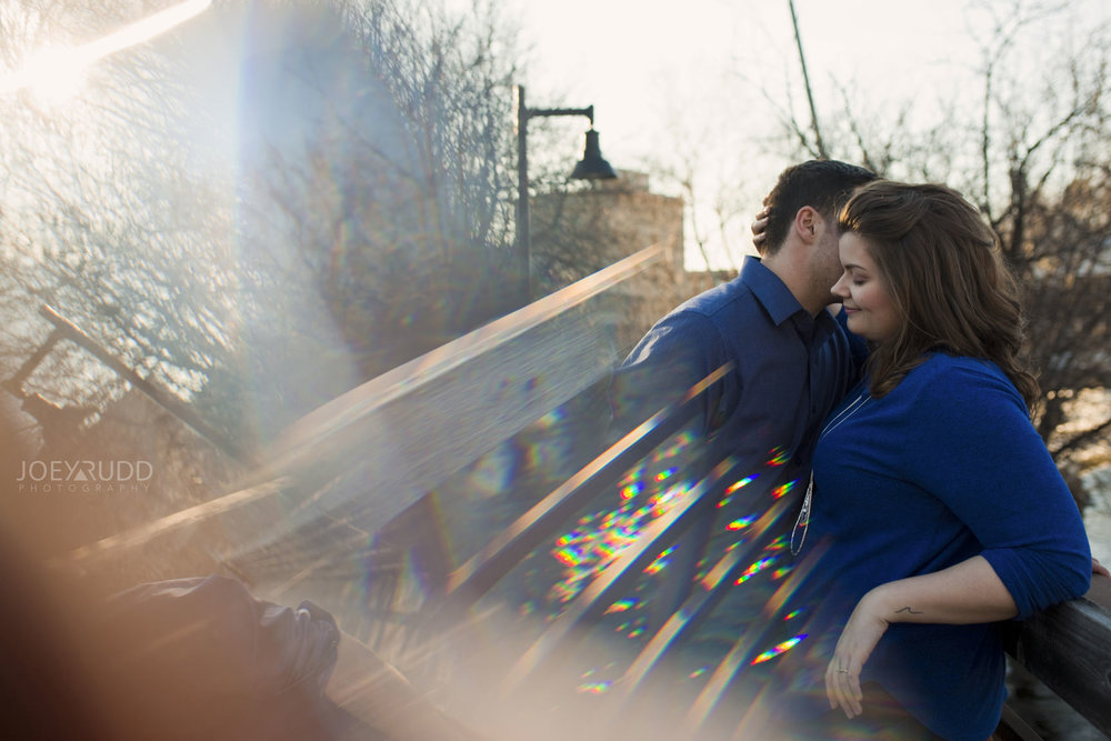 Almonte engagement photography by ottawa wedding photographer joey rudd photography prism prisming