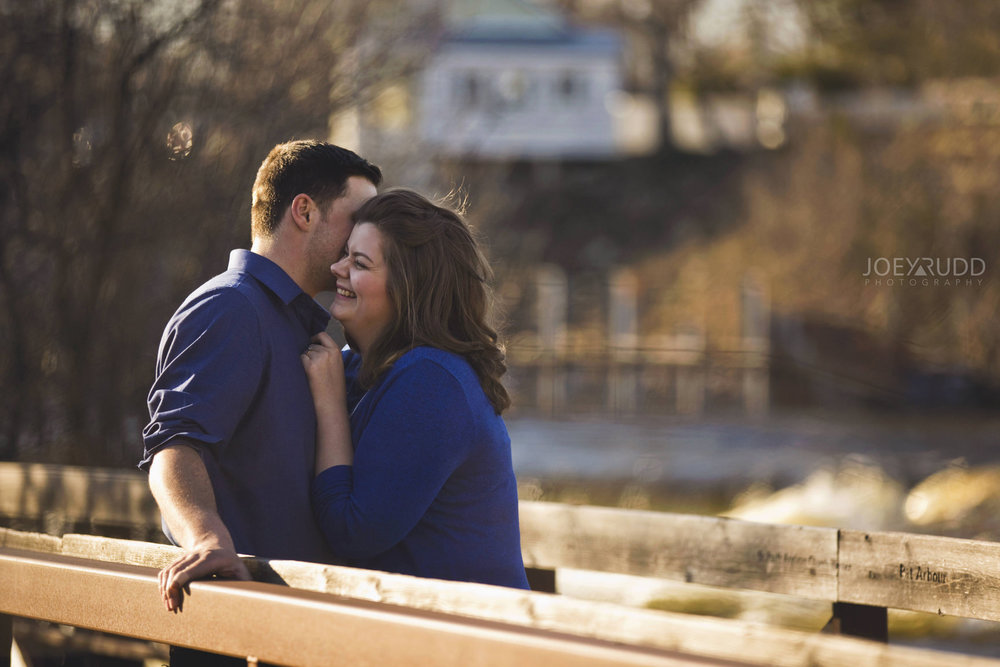 Almonte engagement photography by ottawa wedding photographer joey rudd photography Railing