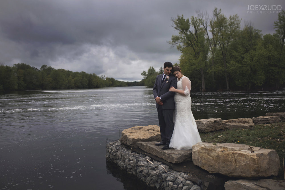 Almonte Wedding by Ottawa Wedding Photographer Joey Rudd Photography Water