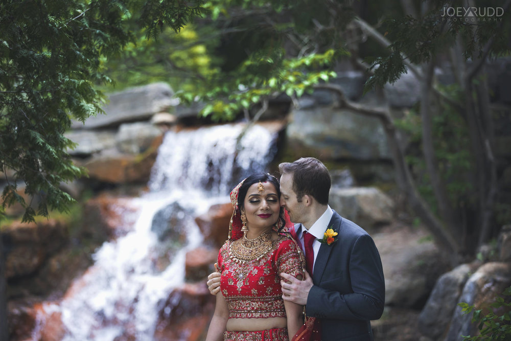 Ottawa Indian Wedding by Ottawa Wedding Photographer Joey Rudd Photography Andrew Haydon Park Waterfall