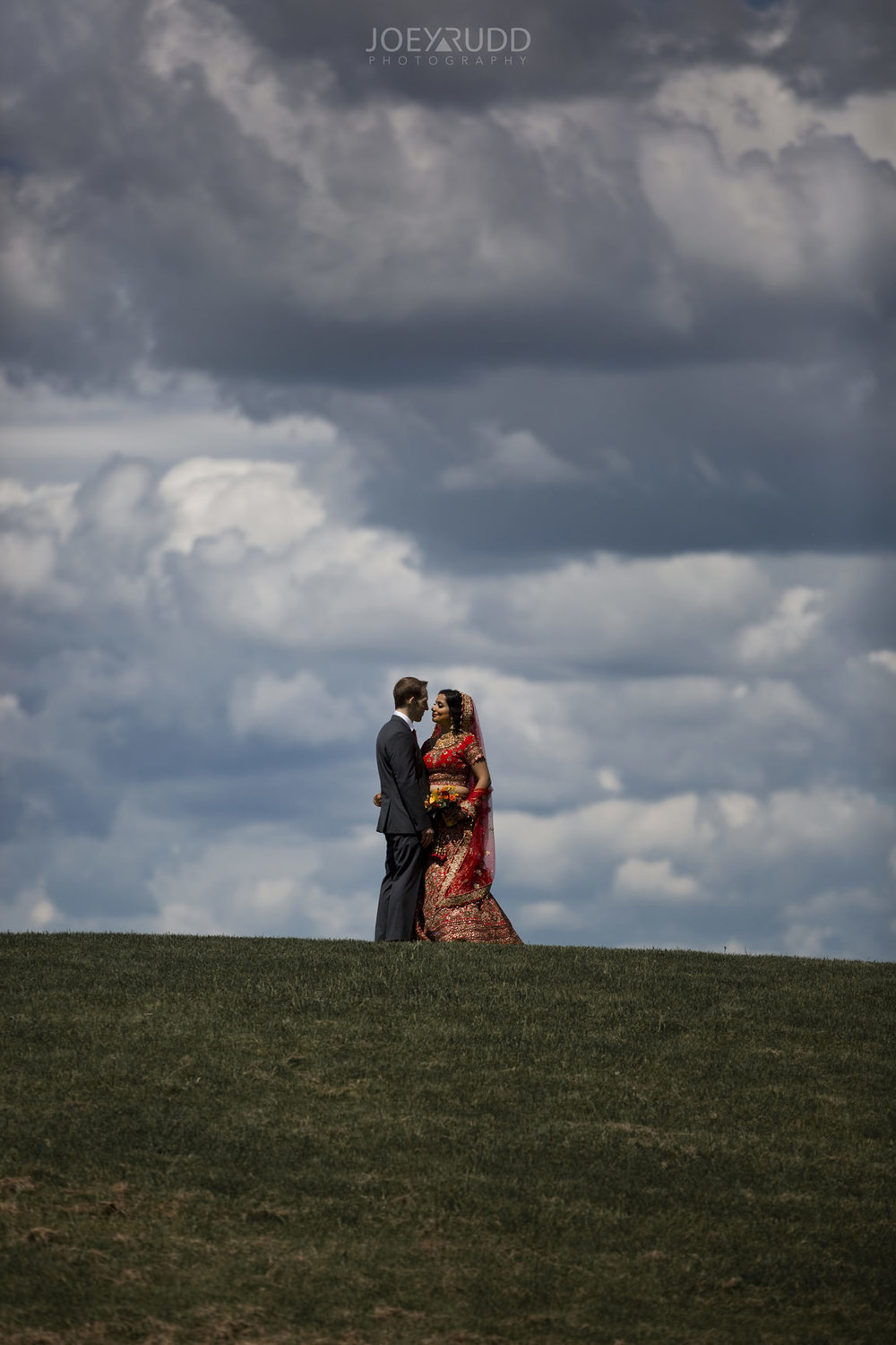 Ottawa Indian Wedding by Ottawa Wedding Photographer Joey Rudd Photography Andrew Haydon Park Sky Clouds