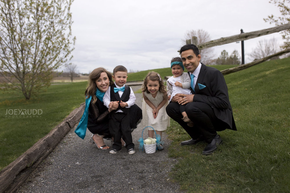 Strathmere Wedding by Ottawa Wedding Photographer Joey Rudd Photography Spring Family Photo