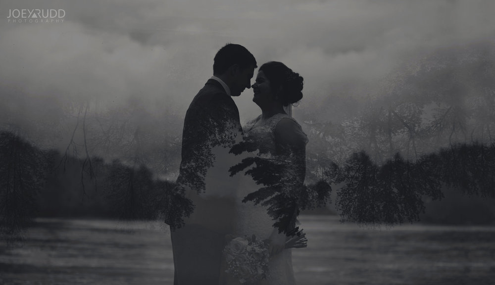 Almonte Wedding by Ottawa Wedding Photographer Joey Rudd Photography Double Exposure