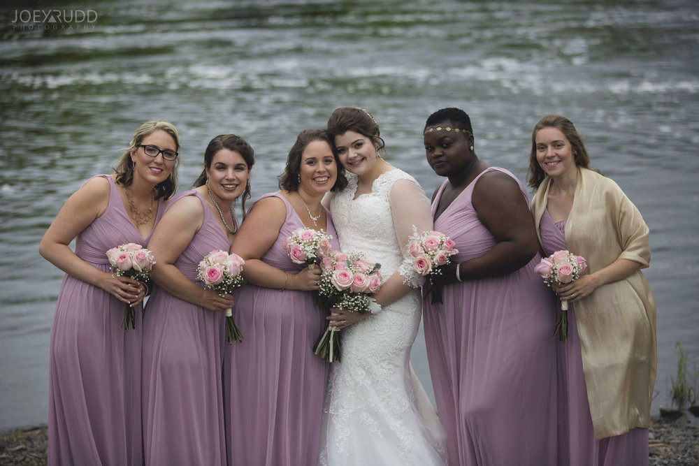 Almonte Wedding by Ottawa Wedding Photographer Joey Rudd Photography Bridesmaids Wedding Party