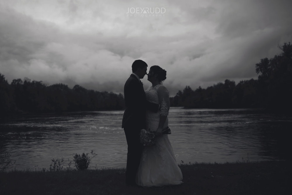 Almonte Wedding by Ottawa Wedding Photographer Joey Rudd Photography Black and White Couple
