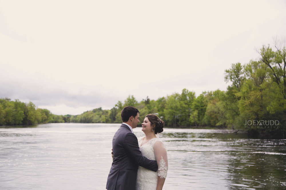 Almonte Wedding by Ottawa Wedding Photographer Joey Rudd Photography River