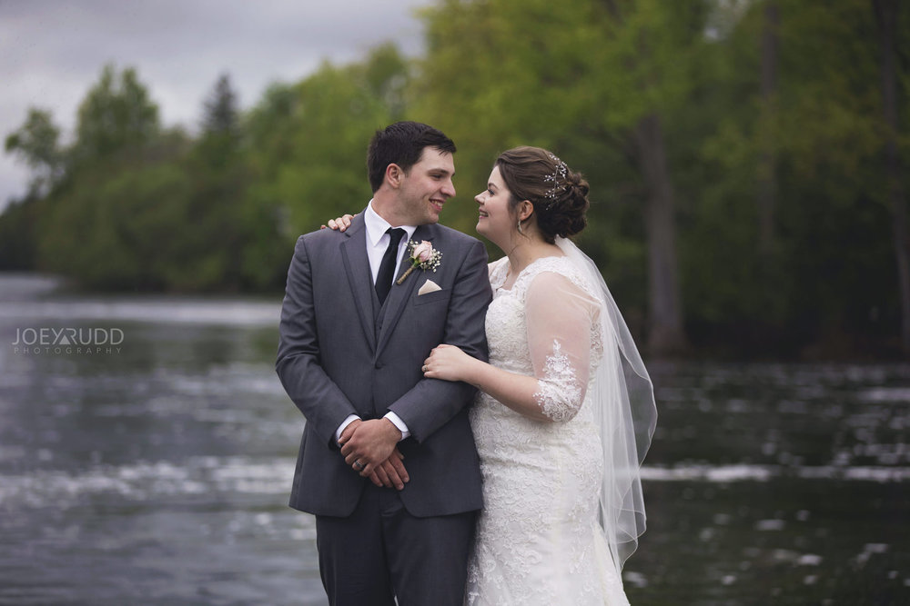 Almonte Wedding by Ottawa Wedding Photographer Joey Rudd Photography Outside Candid