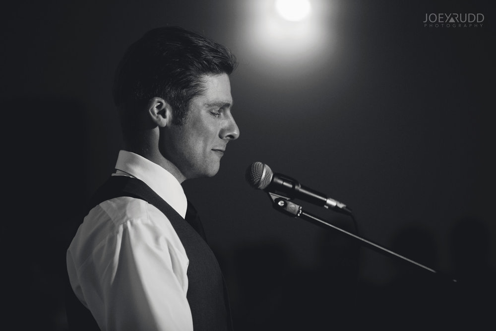 Almonte Wedding by Ottawa Wedding Photographer Joey Rudd Photography Reception Speech Candid
