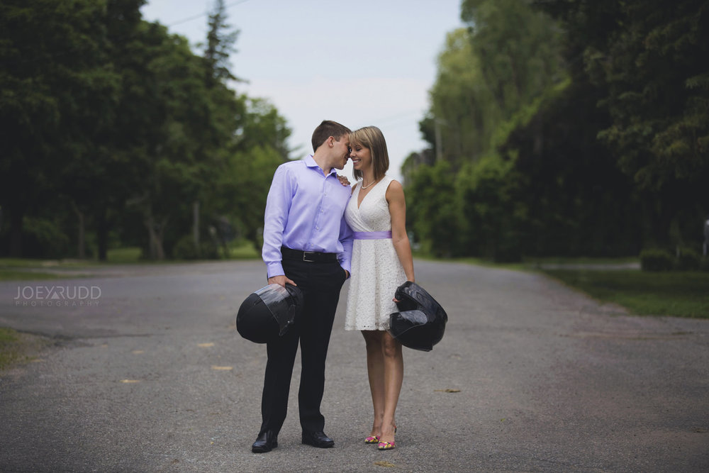 Elopement Wedding Ottawa Photographer Elope Photography Joey Rudd Photographer Motorcycle