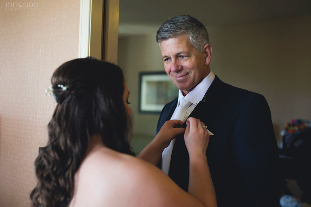 Bridal Prep Photo Best Western Perth Stewart Park Code's Mill Ottawa Wedidng Photographer Joey Rudd Photography Father of Bride