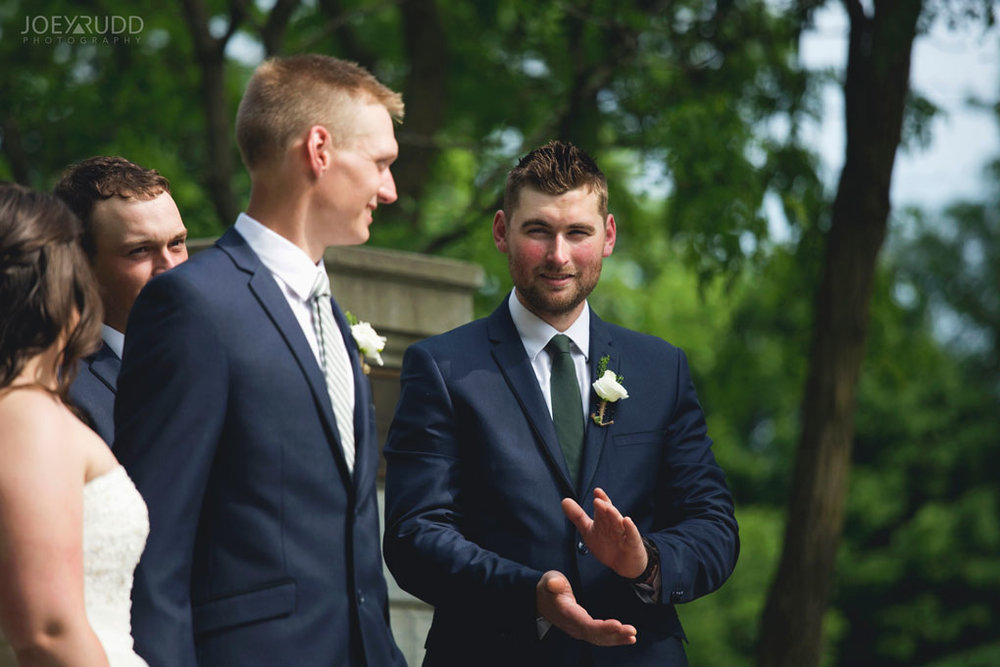 Wedding Ceremony Perth Stewart Park Code's Mill Ottawa Wedidng Photographer Joey Rudd Photography Candid Lifestyle
