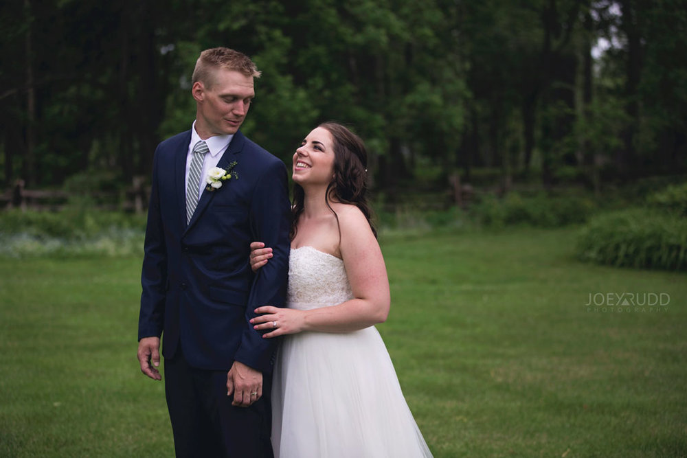 Wedding Perth Stewart Park Code's Mill Ottawa Wedidng Photographer Joey Rudd Photography Couple Candid Happy