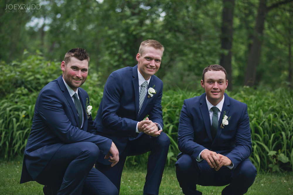 Wedding Perth Stewart Park Code's Mill Ottawa Wedidng Photographer Joey Rudd Photography Couple Groomsmen