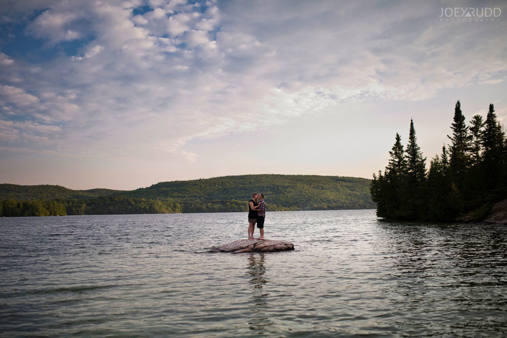 Engagement Photo Renfrew County Lake Clear Ottawa Wedding Photographer Joey Rudd Photography
